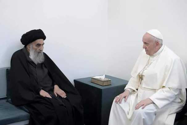 The pope in Iraq: Meeting with Ayatollah Sistani and Mass at biblical site Ur