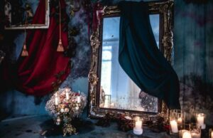 The Real-Life Story of the Haunted Victorian-Style Mirror