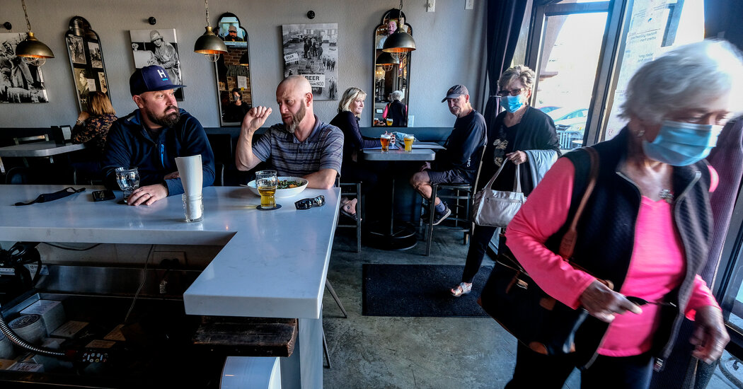 The Virus Spread Where Restaurants Reopened or Mask Mandates Were Absent