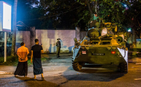 YouTube Removes Myanmar Military Channels