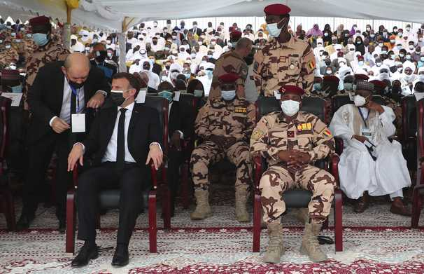 As Chad buries leader Idriss Déby, France's influence is front and center