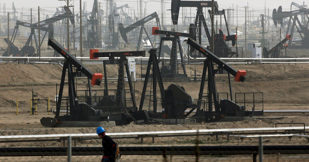 California's governor seeks to ban new fracking and halt oil production, but not immediately.
