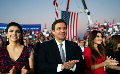 Could Ron DeSantis Be Trump's G.O.P. Heir? He's Certainly Trying.