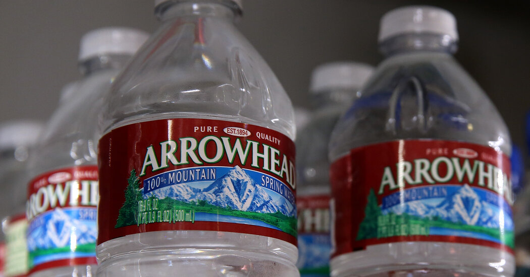 Facing Droughts, California Challenges Nestlé Over Water Use