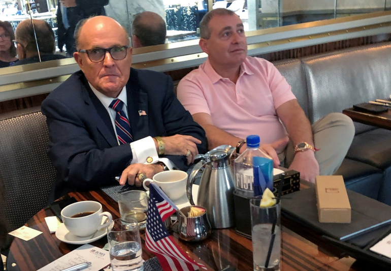 Feds raid Rudy Giuliani's home over Ukraine business dealings
