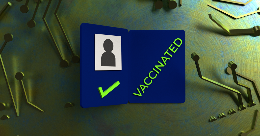For Vaccine Passports, Less Tech Is Best