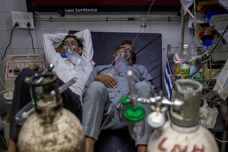 India's coronavirus cases top global record for two days: Live