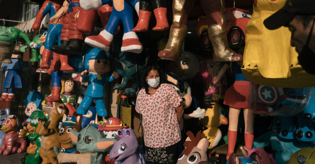 'No More Parties': Mexico's Piñata Makers Badly Bruised by Pandemic