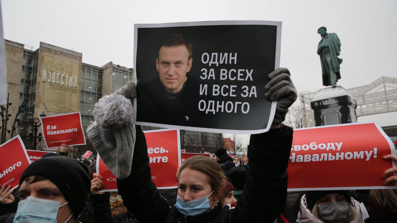 Russian authorities say jailed opposition leader Navalny has been transferred to hospital
