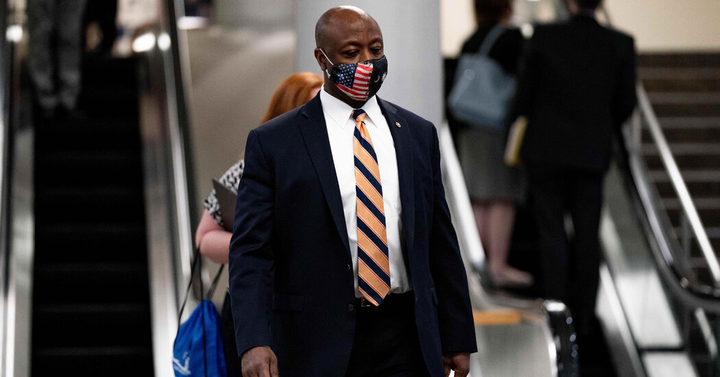 Tim Scott Will Deliver the Republican's Rebuttal to Biden