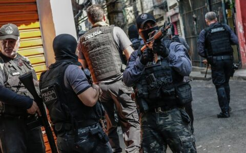 25 Dead After Shootout in Brazil During a Police Raid
