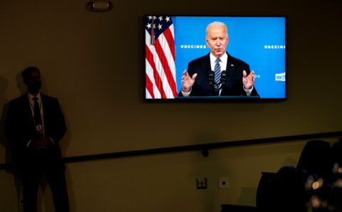 Amid Economic Turmoil, Biden Stays Focused on Longer Term