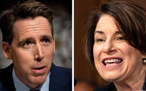 'Antitrust' by Amy Klobuchar, and 'The Tyranny of Big Tech' by Josh Hawley