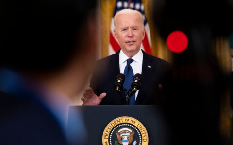 Biden Defends Unemployment Benefits, Provided Workers Accept Job Offers