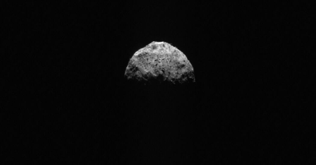 Bye Bye, Bennu: NASA Heads Back to Earth With Asteroid Stash in Tow