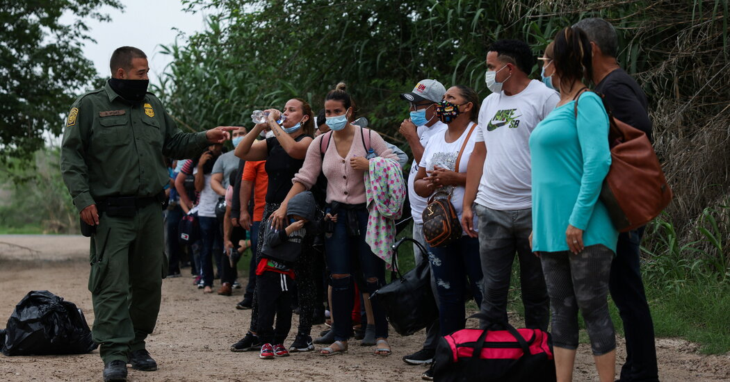 Detentions at Southwest Border Reach 20-Year High