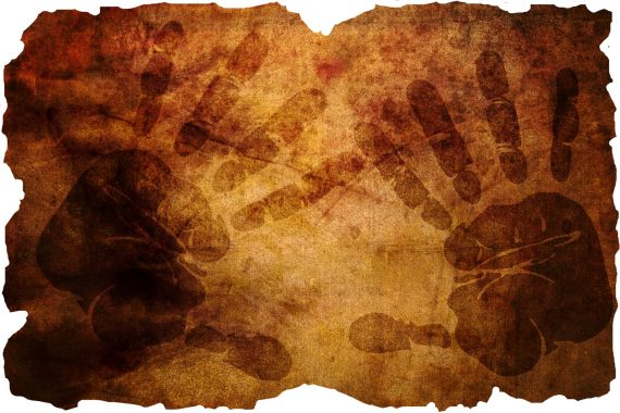 Mysterious Child-Size Mayan Handprints Found in Mexican Cave
