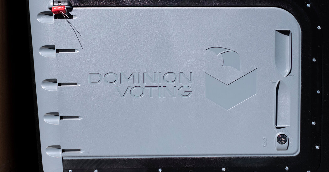 Newsmax Apologizes for False Claims of Vote-Rigging by a Dominion Employee