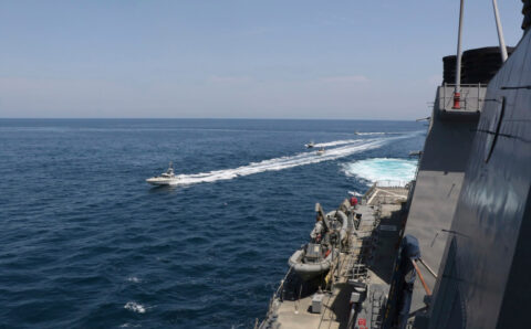 US Coast Guard fires warning shots at Iranian vessel: Pentagon