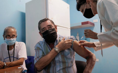 Cuba reports a high success rate for its homegrown Abdala vaccine.
