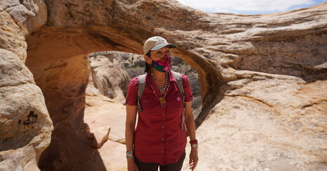 Deb Haaland Wants to Restore National Monuments Slashed by Trump