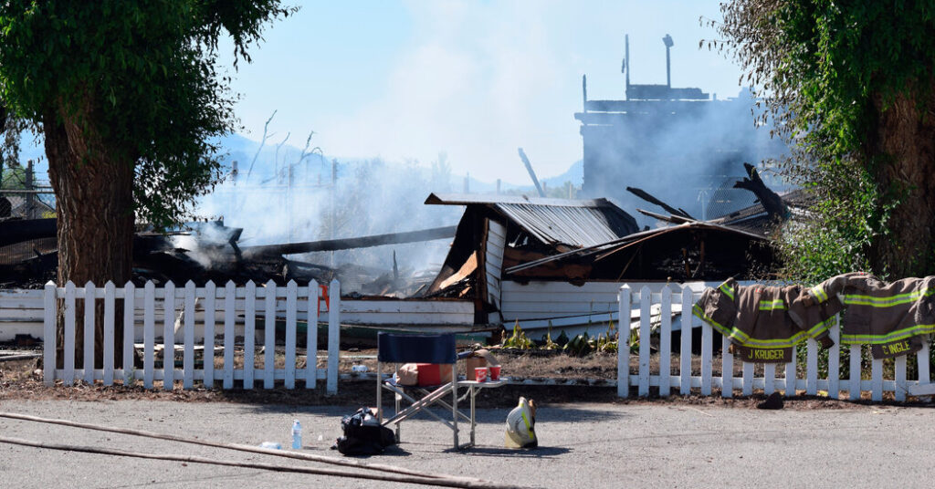 Fire Destroys Two Catholic Churches on Indigenous Land in British Columbia