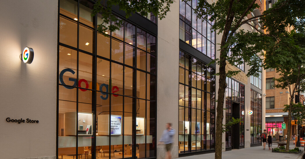 Google to Open Physical Store in New York