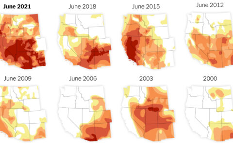 How Bad Is the Drought? These Maps Tell the Story.