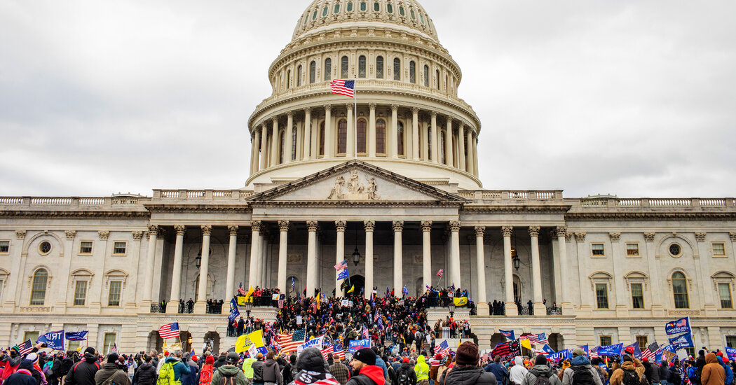 No, there is no evidence that the F.B.I. organized the Jan. 6 Capitol riot.