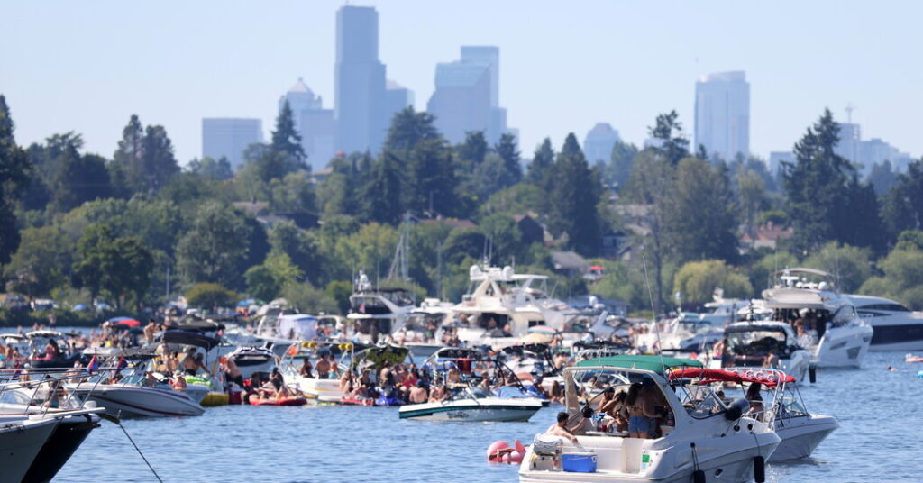 Pacific Northwest Bakes in Record-Setting Heat Wave