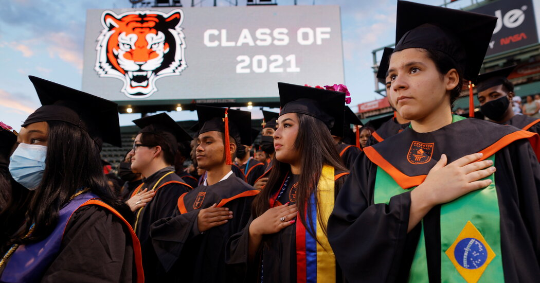 The pandemic affected mental health and college plans for U.S. high schoolers.