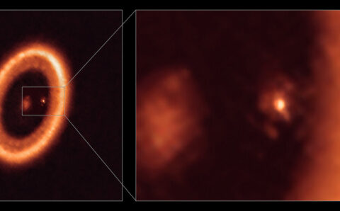 Astronomers See Moons Forming in Disk Around Distant Exoplanet