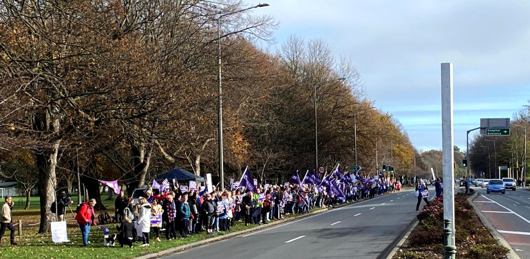New Zealand nurses mull new offer after strike over pay, hours