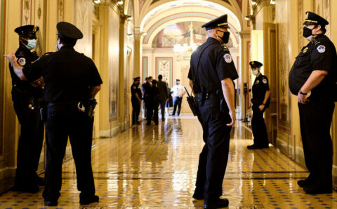 Senate Approves Emergency Spending to Secure the Capitol