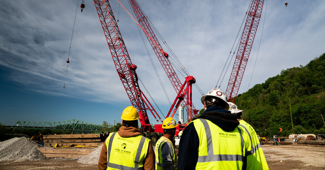 $1 Trillion Infrastructure Bill Pours Money Into Long-Delayed Needs