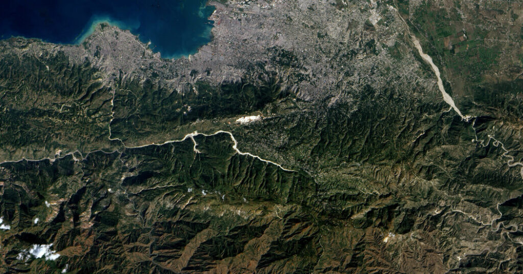 Haiti Earthquake Occurred Along Same Fault Line as the One in 2010