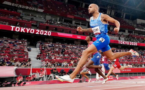 Italy's Jacobs wins men's 100 metres gold at Tokyo Olympics