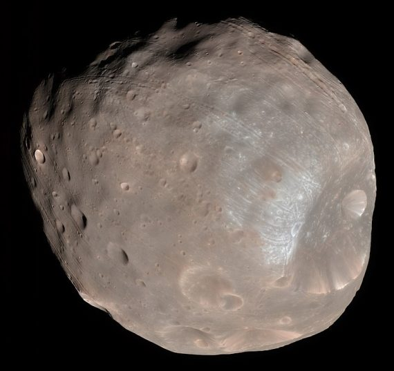Phobos May Hold the Answers to Whether There Was Life on Mars