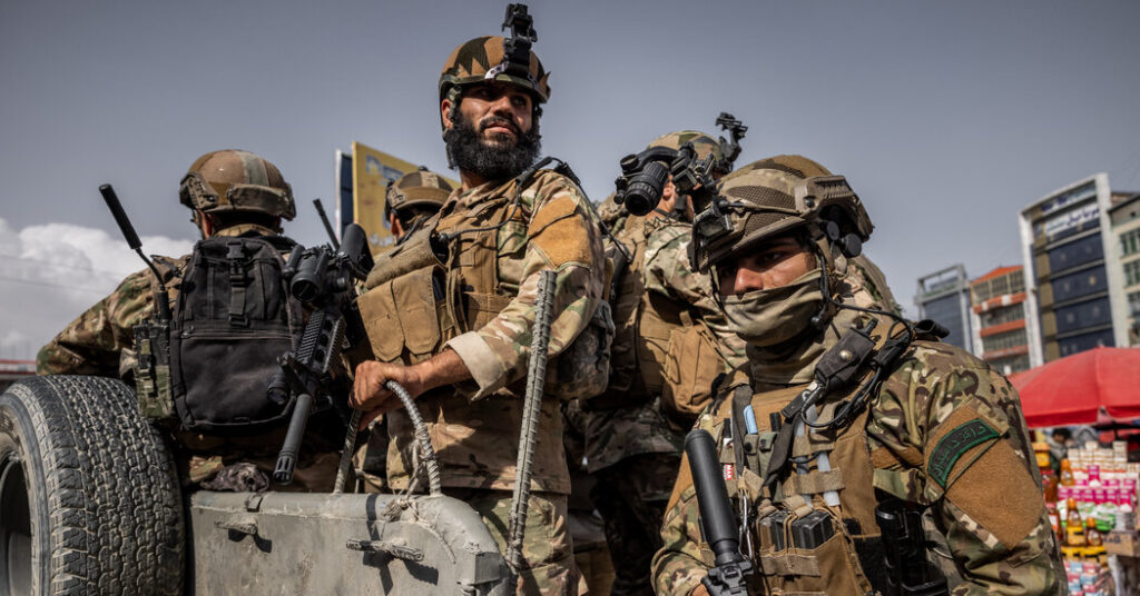 This Is How the U.S.'s Afghanistan Exit Plan Unraveled