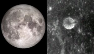 """Three mile tall """"artificial spire"""" structure discovered on surface of Moon"""
