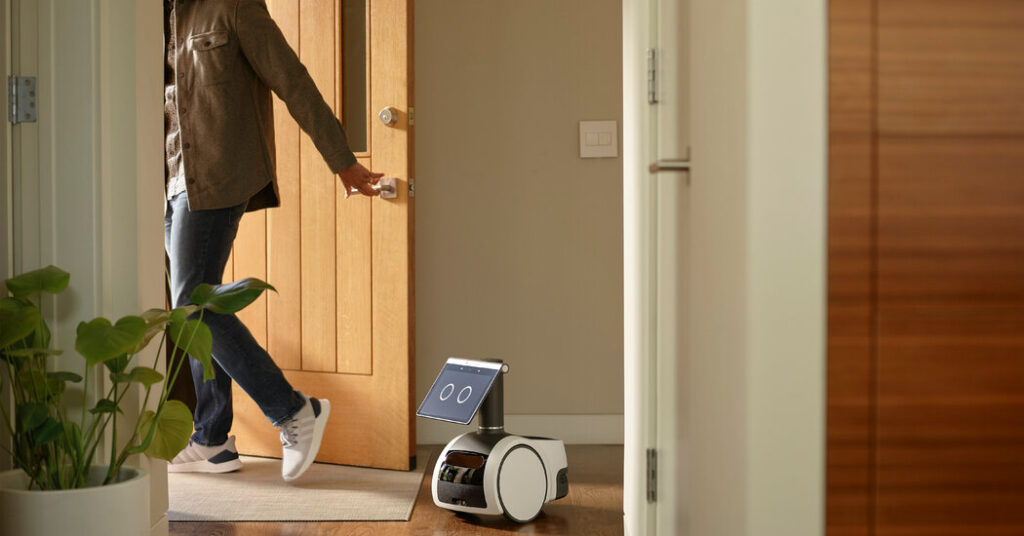 Amazon announces Astro, a home robot that it swears is more than Alexa on wheels.