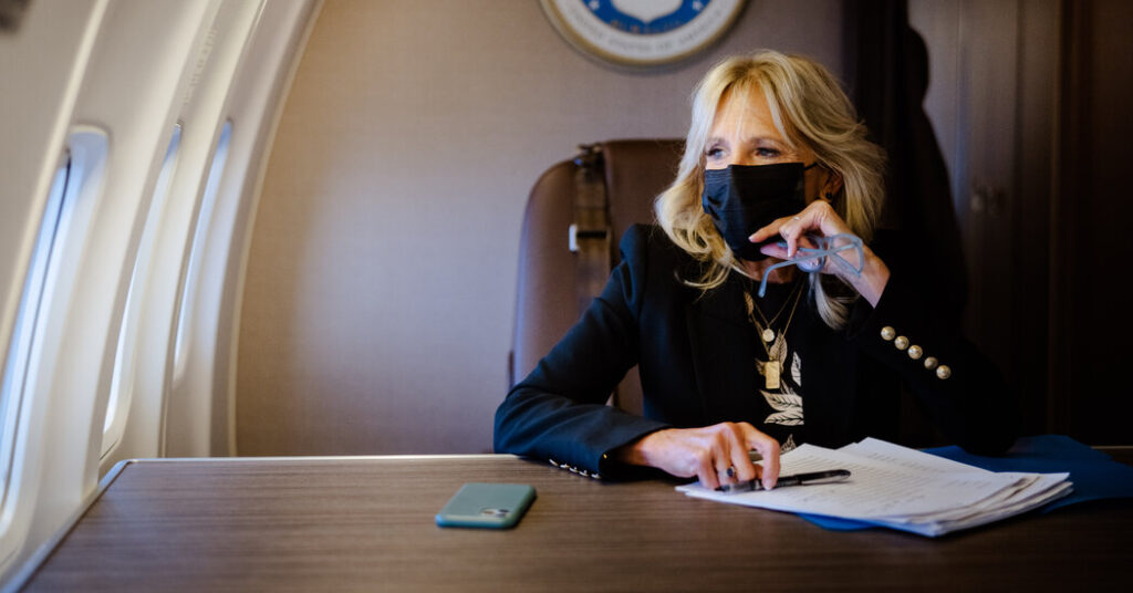 Jill Biden Is Chasing the President's Most Elusive Campaign Promise: Unity