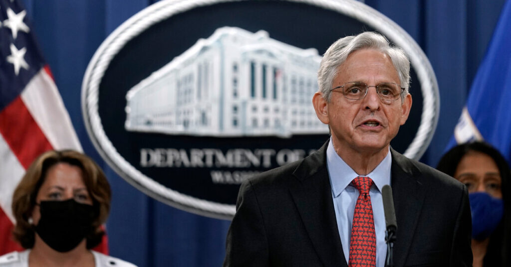 Justice Dept. Imposes Limits on Oversight of Local Police