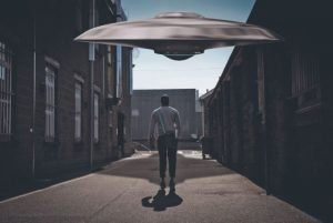 Prison inmates saw a UFO, and later noticed mysterious red rash on their bodies