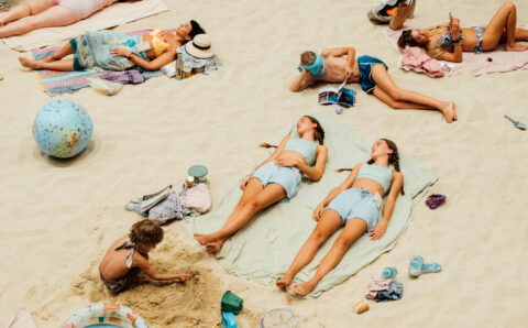 Review: In 'Sun & Sea,' We Laze Away the End of the World