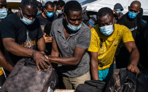 Thousands of Haitian Migrants Are Being Let Into U.S., Official Says
