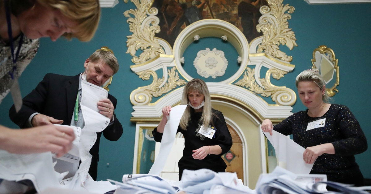 United Russia ahead as polls close in parliamentary elections